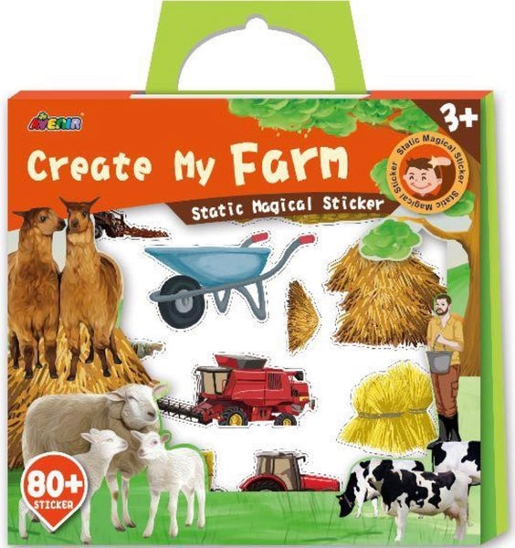 Magical Static Stickers Create My Farm