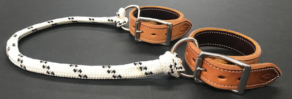 Drovers Saddlery Made Leather Sideline Hobbles