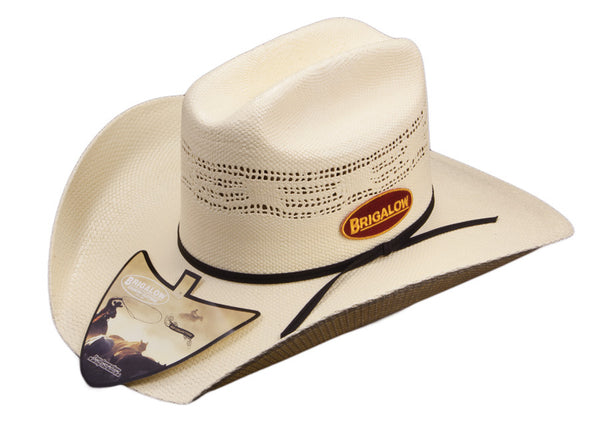 Brigalow Kids Bronco Straw Hat