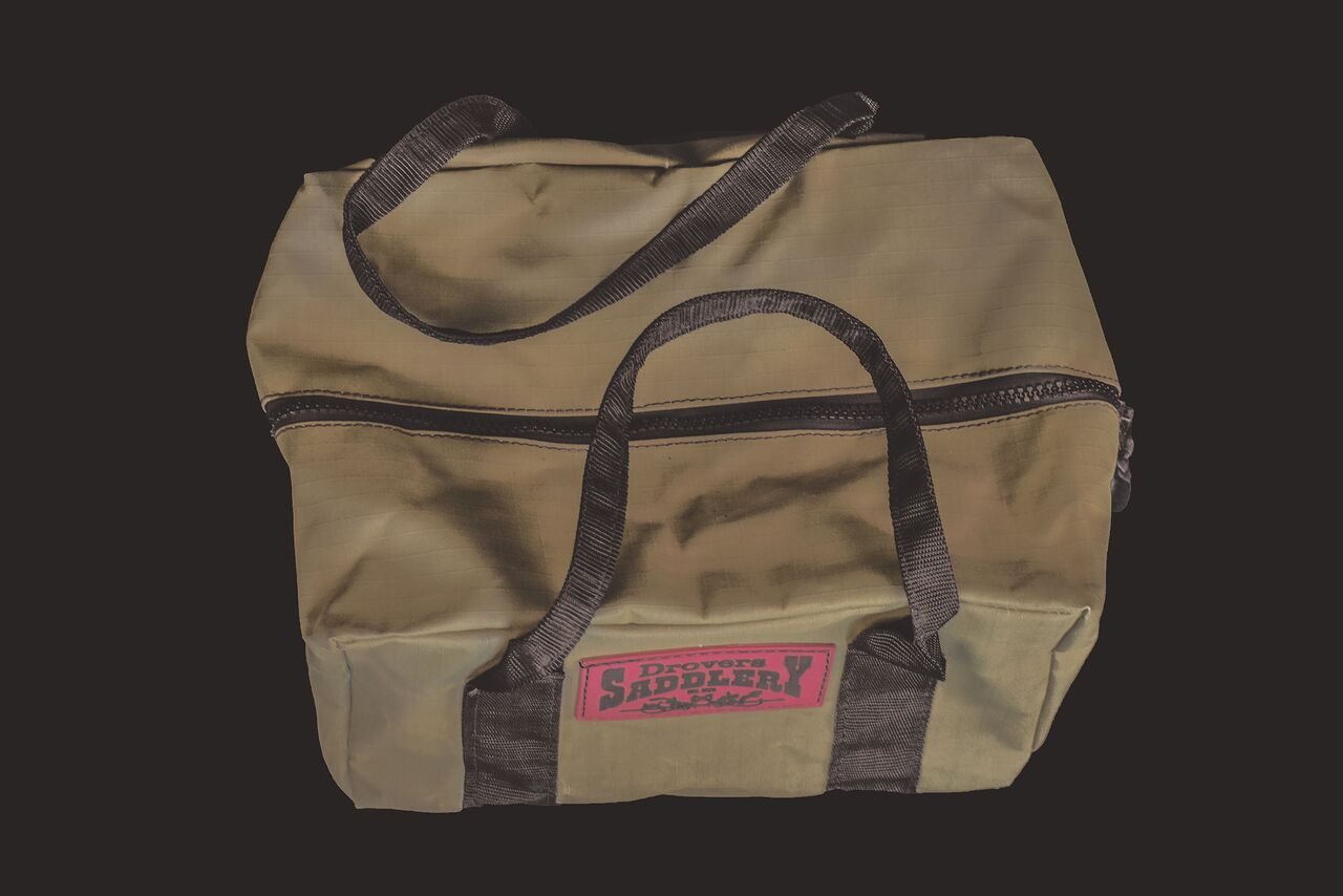 Drovers Saddlery Made Canvas Gear Bag Small