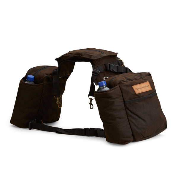 Oilskin Saddle Bag