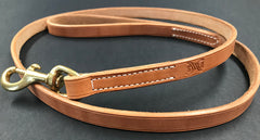 Drovers Saddlery Made Leather Dog Lead