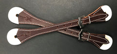 Drovers Saddlery Made Reinforced Spur Straps