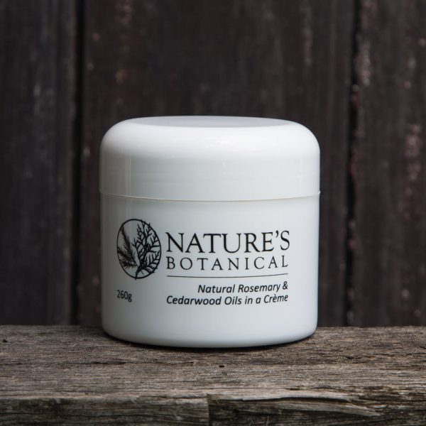 Natures Botanical Creme 260gm Tub