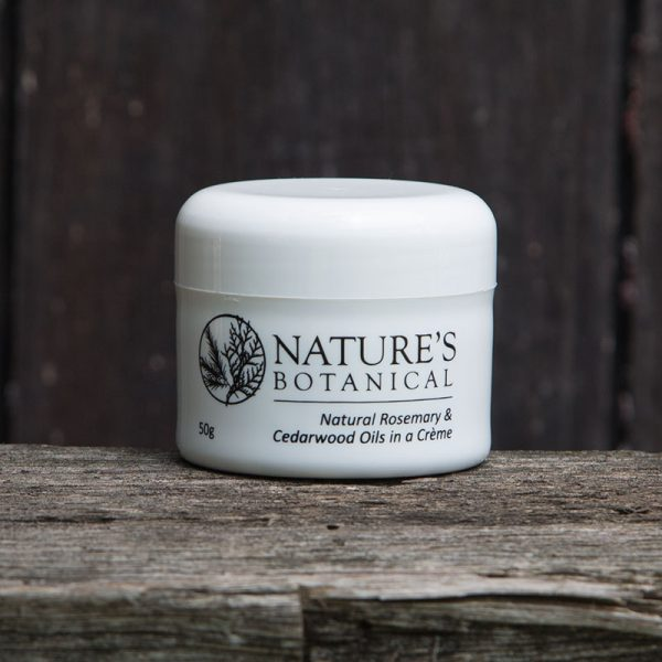 Natures Botanical Creme 50gm Tub