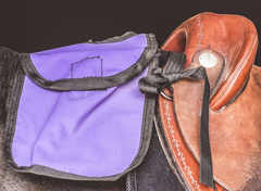 Drovers Saddlery Made Pommel Bag