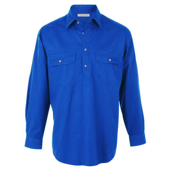 R.M.Williams Angus Shirt Blue