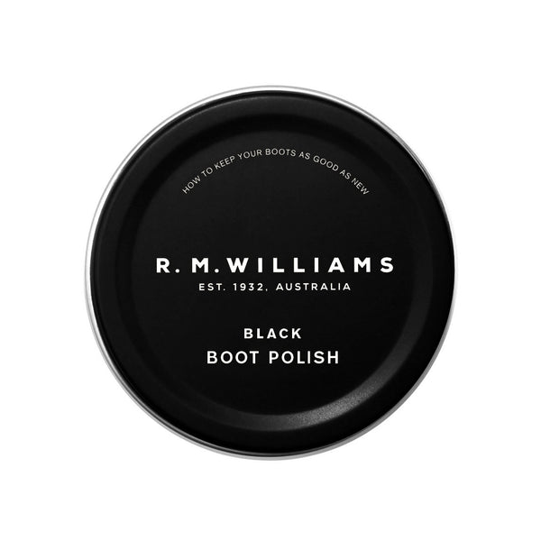 RMW Stockmans Boot Polish Black