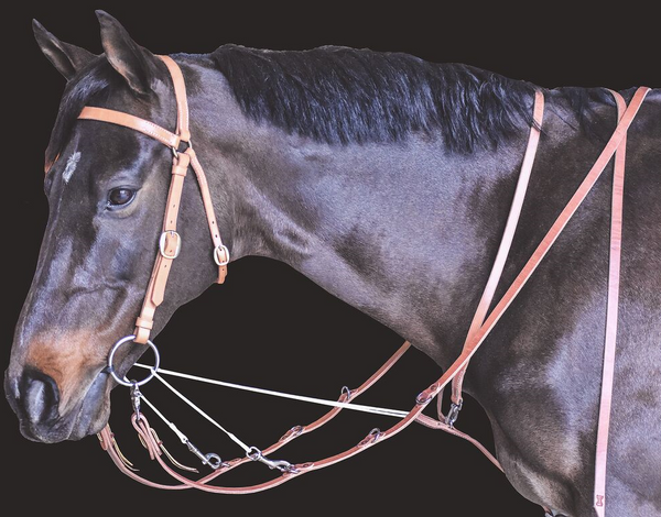 Drovers Saddlery Made German Martingale