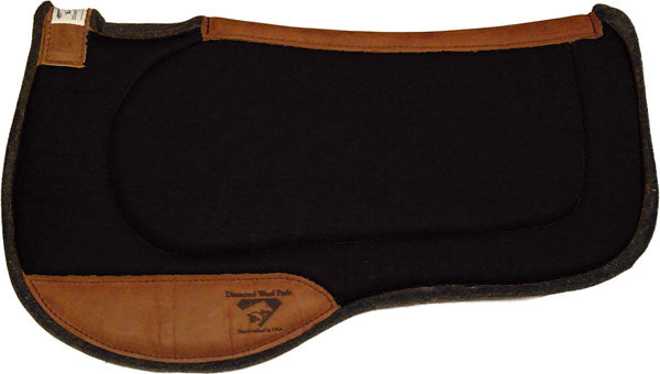 Diamond Wool Endurance Square Contoured Ranch Pad