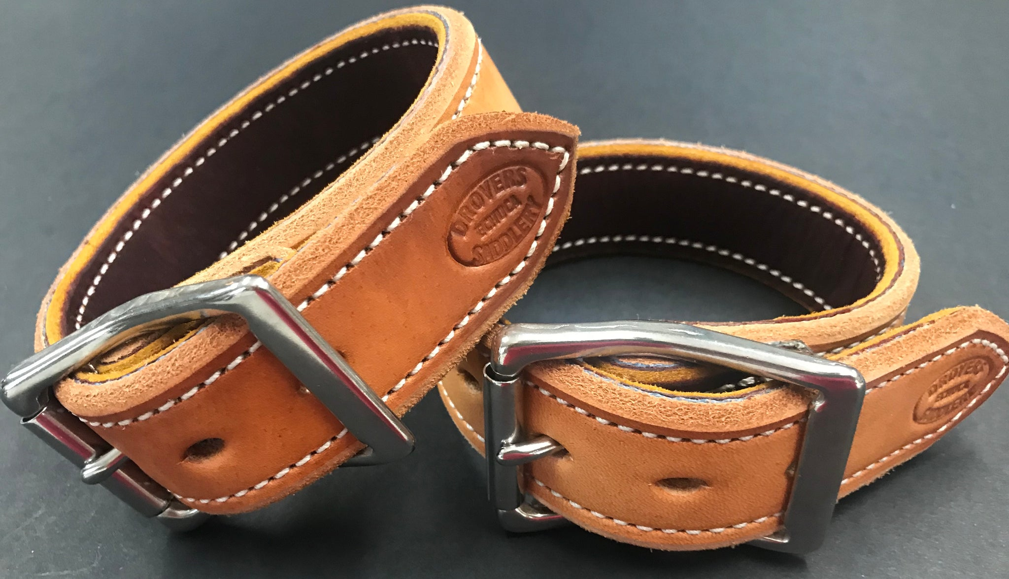 Drovers Saddlery Made Leather Hobble Straps Only