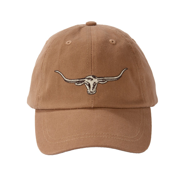 R.M.Williams Steer Head Logo Cap Camel
