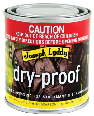 Joseph Lyddy Dryproof 250ml
