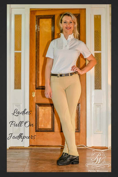 Peter Williams Ladies Pull On Jodhpurs