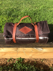 Drovers Saddlery Made Oilskin Rug