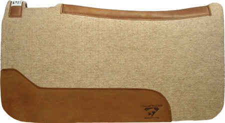Diamond Wool Contoured Cowboy Pad
