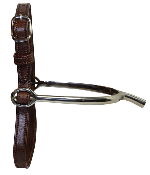 White Horse Childs Stitched Spur Strap
