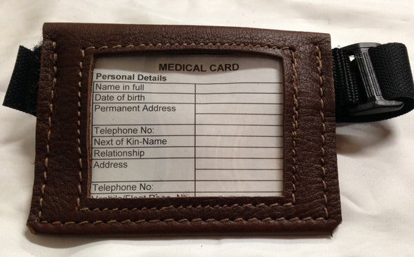 Drovers Saddlery Made Leather Medical Armbands