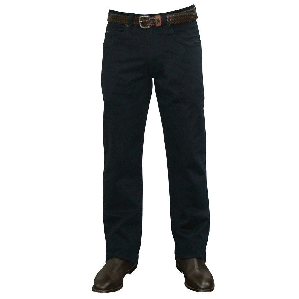 Mens Thomas Cook Stretch Moleskin Jean Navy