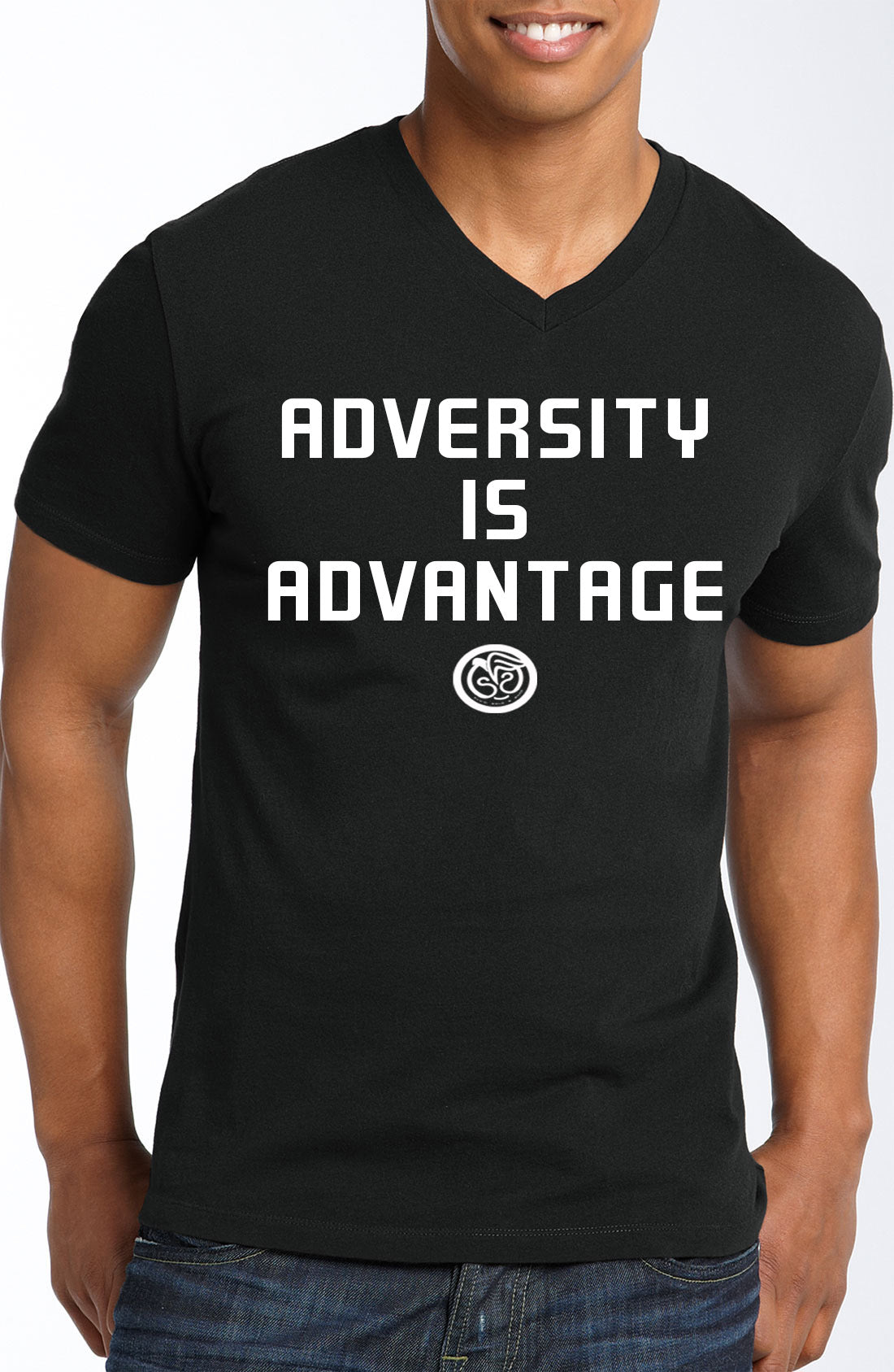 Advantage - Black w/White Logo