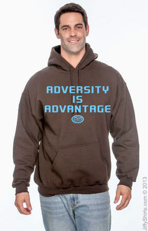 Hoodie - Adversity is Advantage