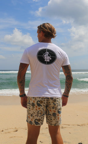 Canggu - Public Enemy Print - Mens T-Shirt Top