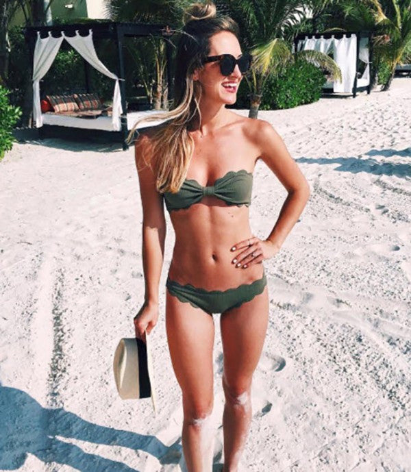 Marysia Swimwear - Antibes - Top & Bottom in Olive