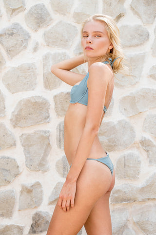 Storm Swimwear - Cannes - Bikini Top In Dusk Blue