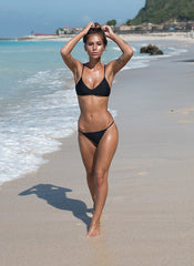 Storm Swimwear - Capri - Scoop Neck Bikini Top in Black
