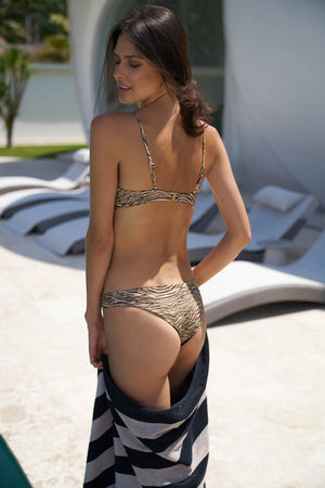 Storm Swimwear - St Barts - Bottom in Tiger Print