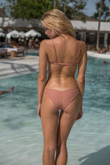 Storm Swimwear - Dangerous - Triangle Bikini Top In Sun Kissed