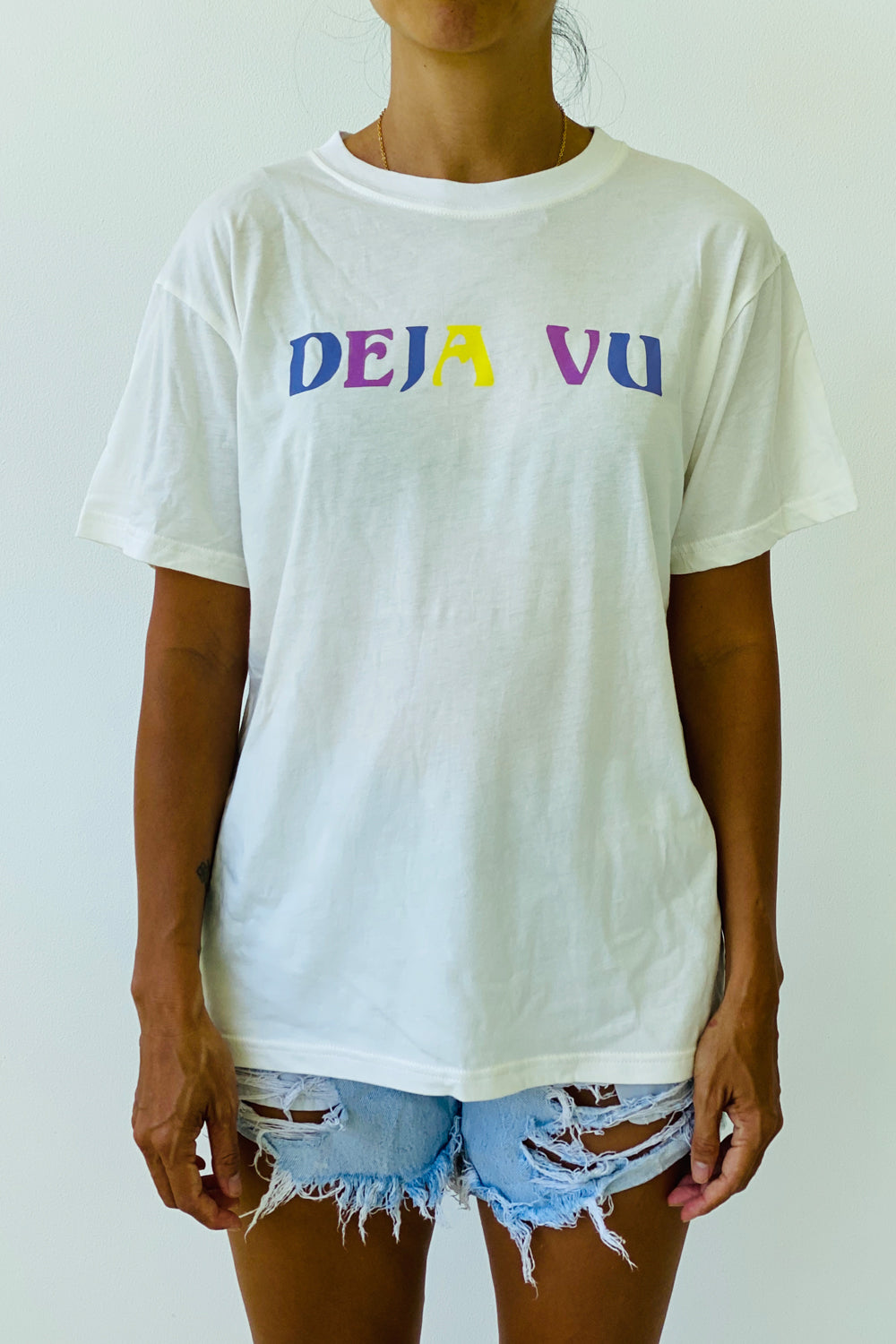 Dejavu - Women Tshirt in White