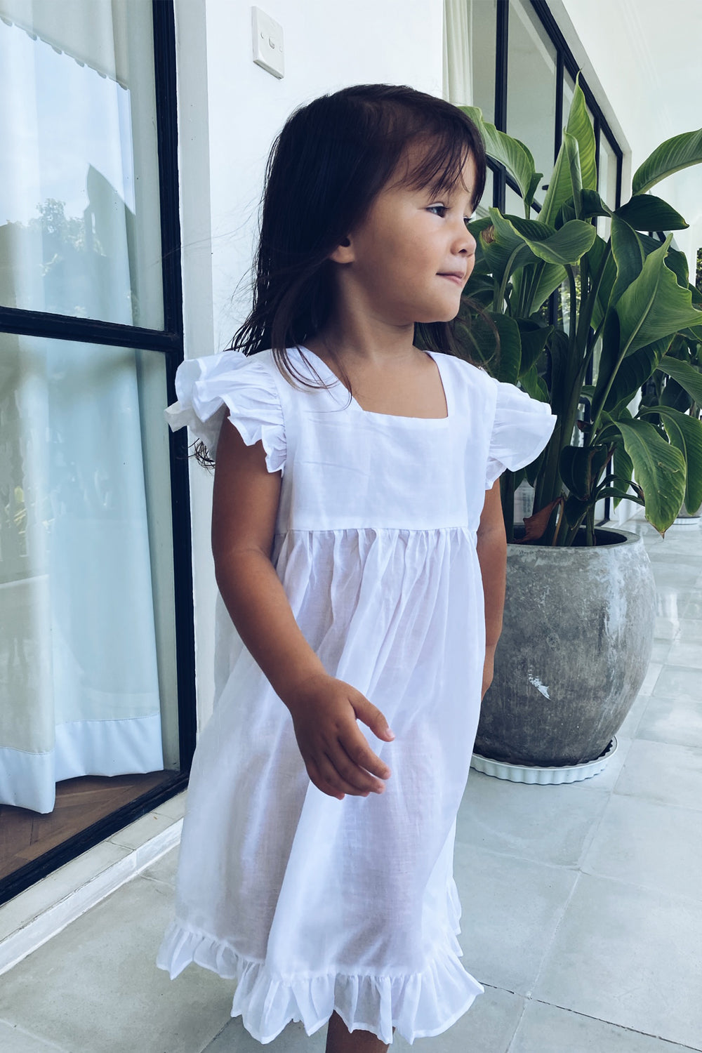 La Confection Kids - Skyler - Kids Dress in White