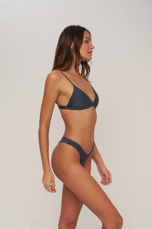 Storm Swimwear - Rio - Bikini Bottom in Slate Grey