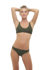 Storm Swimwear - Cottesloe - Top in Military Green