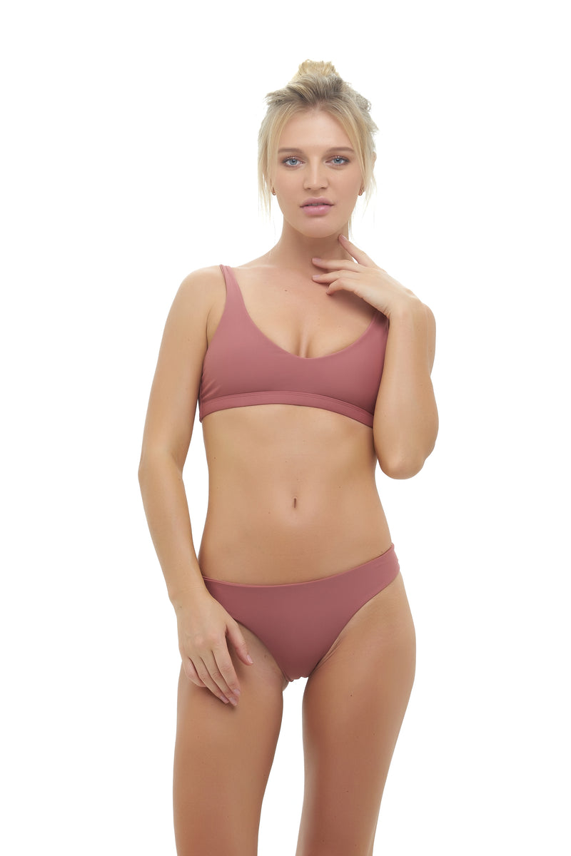 Storm Swimwear - St Barts - Bottom in Canyon Rose
