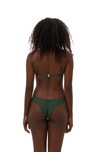 Storm Swimwear - Mallorca - Triangle Bikini Top with removable padding in Plain Bamboo
