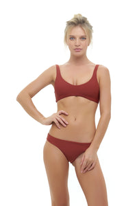 Storm Swimwear - Cottesloe - Top in Desert Sand