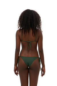 Storm Swimwear - Formentera - Tie Side Bikini Bottom in Plain Bamboo