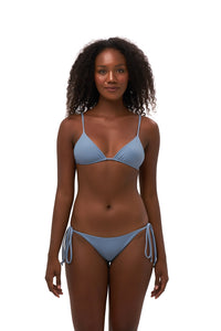 Storm Swimwear - Formentera - Tie Side Bikini Bottom in Sky Blue