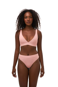 Storm Swimwear - Super Paradise - Super Style High waist brief in Coral Cloud