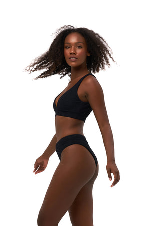 Storm Swimwear - Crete - Coverage top in Storm Le Nuage Noir
