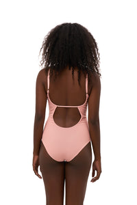 Storm Swimwear - Portofino - One Piece Swimsuit in Coral Cloud