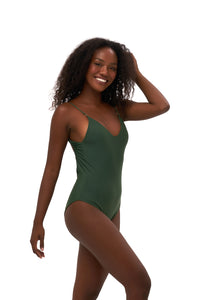 Storm Swimwear - Portofino - One Piece Swimsuit in Plain Bamboo