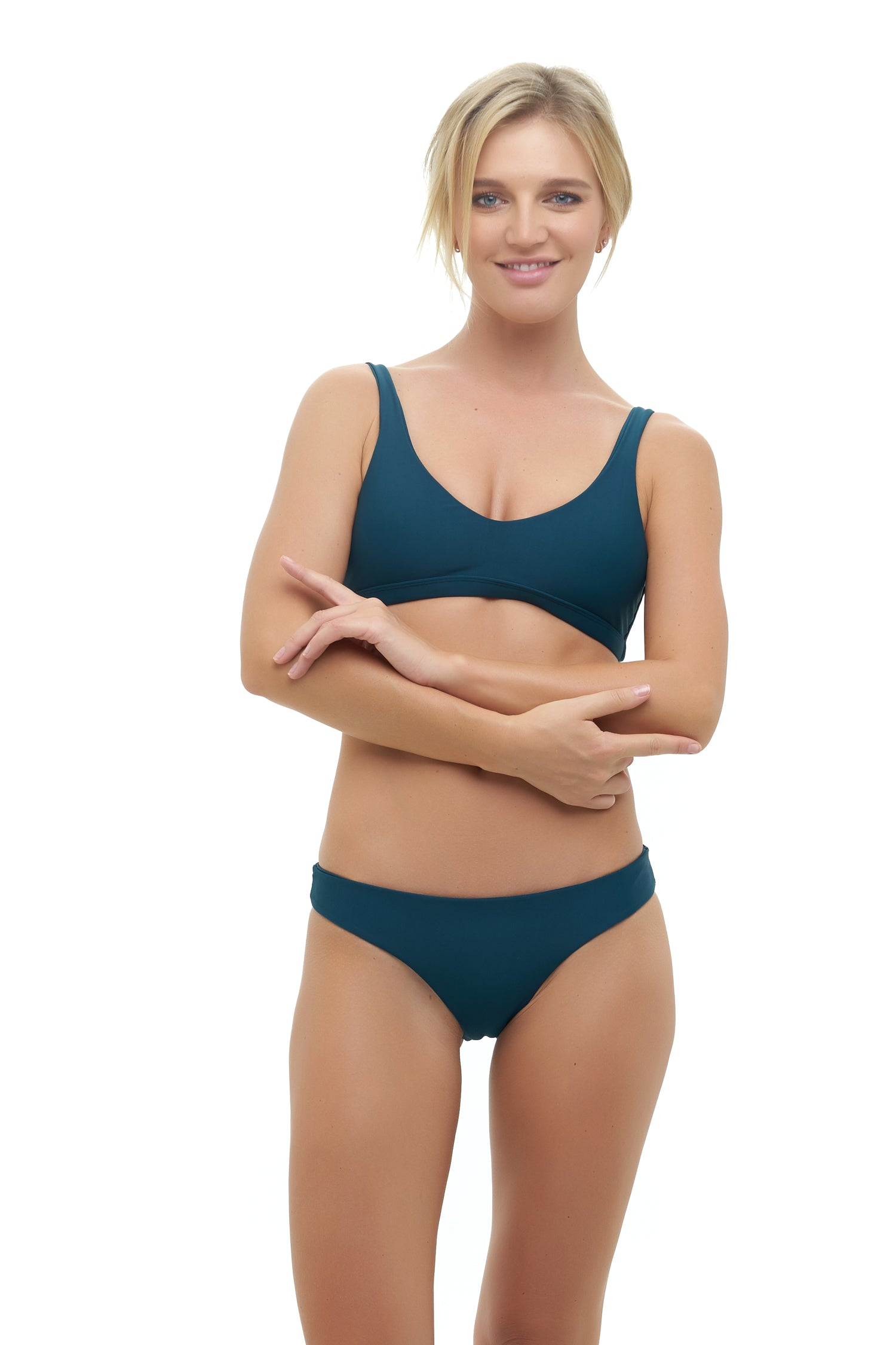 Storm Swimwear - Cottesloe - Top in Jungle Green
