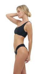 Storm Swimwear - Riviera - V Bikini Bottom in Black