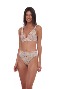 Storm Swimwear - Crete - Coverage top in Wild Flower Print
