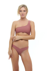 Storm Swimwear - Riviera - V Bikini Bottom in Canyon Rose