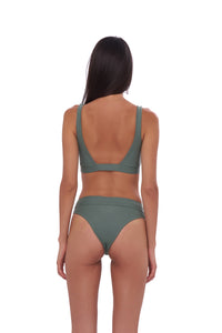 Storm Swimwear - Crete - Coverage top in Eucalyptus