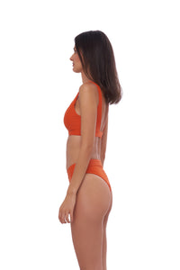 Storm Swimwear - Crete - Coverage top in Sunburnt Orange